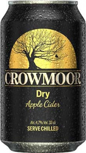 Crowmoor Dry Apple Cider, 0,33 l Dose, 4,7%