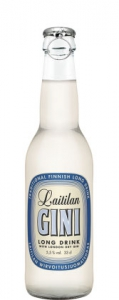 "Laitilan GINI Long Drink ""Lonkero"", 0,33 l, Flasche, 5,5%"