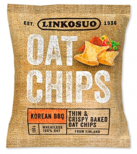 Linkosuo Hafer-Chips Korean BBQ, 150 g