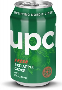 Upcider Red Apple Cider, 0,33 l Dose, 4,7%