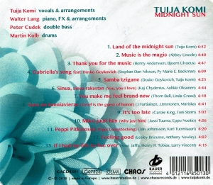 CD Tuija Komi - Midnight Sun