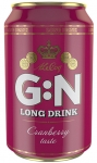 "G:N Long Drink ""Lonkero"" Cranberry, 0,33 l, Dose, 5,6%"