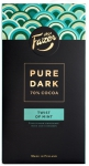 Fazer Pure Dark 70% Cocoa Twist of Mint Schokolade