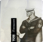 Finlayson Tom of Finland Couples Paperilautasliinat Papier-Servietten